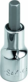 product image for SK Hand Tool 44310 Hex 1/4-Inch Drive Bit Socket, 5/32-Inch, Chrome