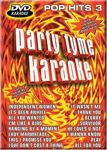 Party Tyme Karaoke: Pop Hits, Vol. 3 (Party Tyme Karaoke Dvd)