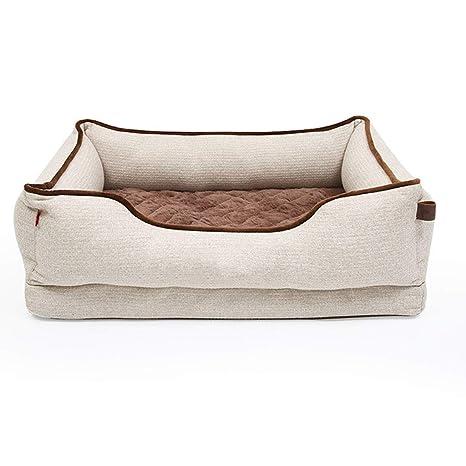 HYXI-Camas Extraíble y Lavable Colchón para Mascotas Colchoneta para Masaje Colchoneta Diseño para Perros