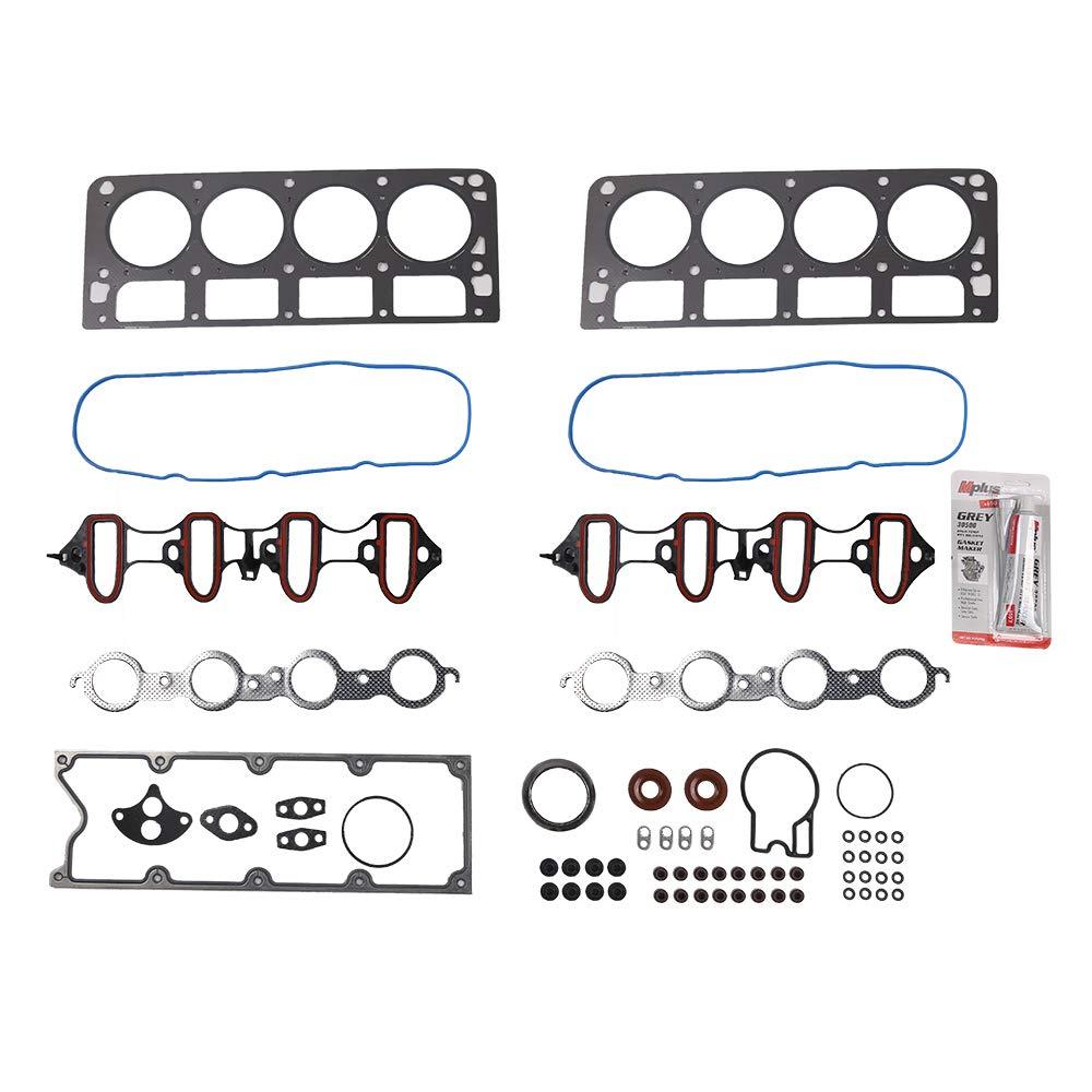 Autoforever Cylinder Head Gasket Set for 99-01 Chevrolet Silverado 1500 Suburban 1500 Tahoe GMC Sierra 1500 GMC Yukon 4.8L 5.3L OHV