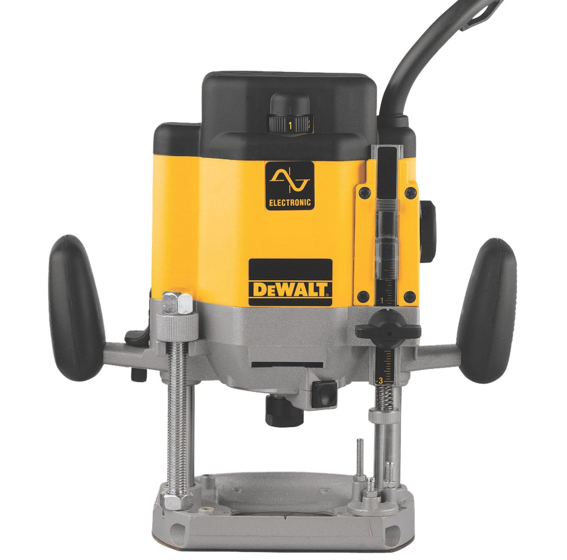 DEWALT Router, Plunge Base, Variable Speed, 3-HP DW625