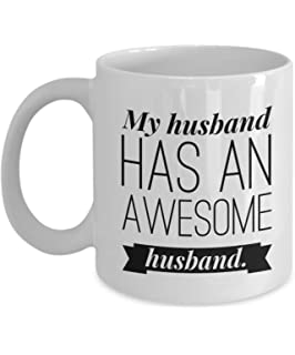 My Husband Has An Awesome Gay Coffee Mug Boyfriend Gifts