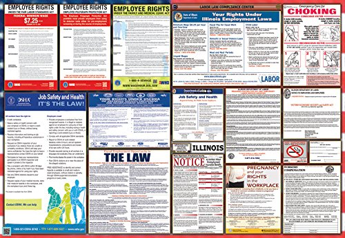 Illinois / Federal Combination Labor Law Posters
