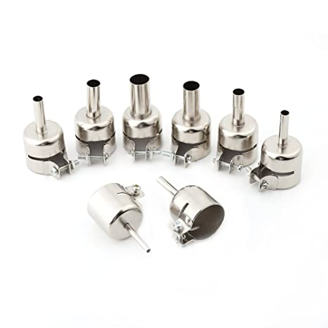 Kits de boquillas de Pistola de Calor 8pcs / Set para Herramientas de reparación de Estaciones