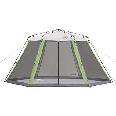 Coleman Screened Canopy Tent with Instant Setup | Back Home Screenhouse Sets Up in 60 Seconds