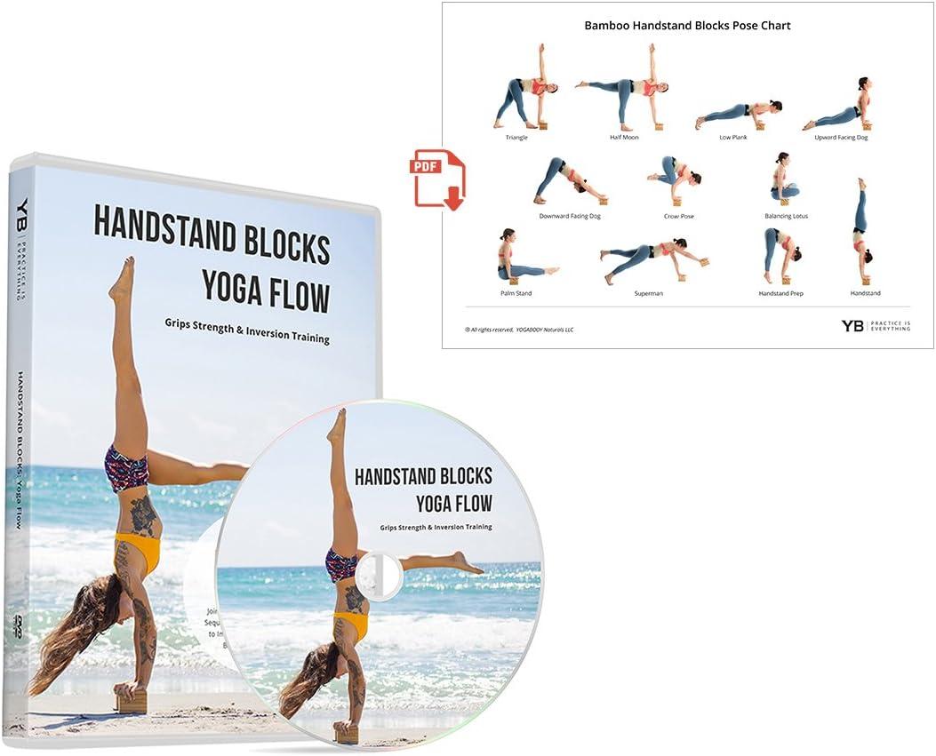 Nero Venerdìginnastica HANDSTAND Piedistalli Blocchi  ACRO Yoga