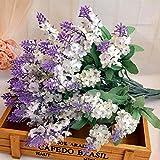 Euone  Valentine Clearance Sale , 10 Artificial Flowers Flower Head Simulation Lavender Flowers