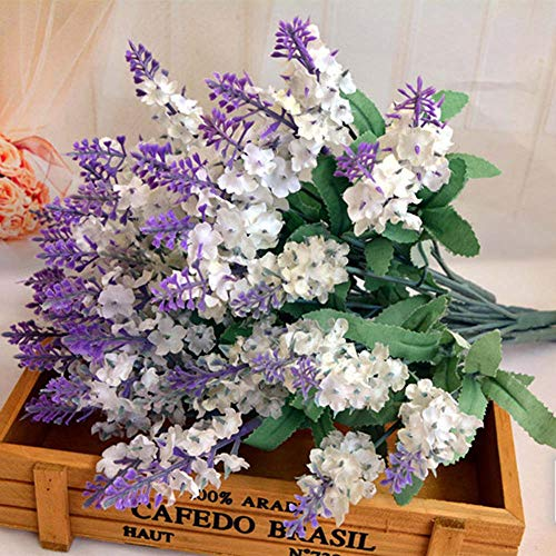 Euone  Valentine Clearance Sale , 10 Artificial Flowers Flower Head Simulation Lavender Flowers ()