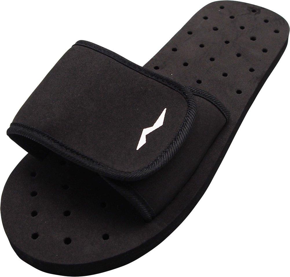 NORTY - Men's Slide Strap Shower Drainage Sandal, Black 40336-10D(M) US