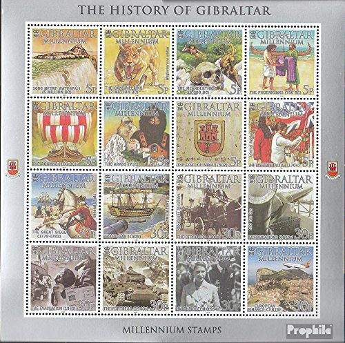 Gibraltar 914 ZD-Archery (Complete.Issue.) 2000 History Gibraltars (Stamps for Collectors)