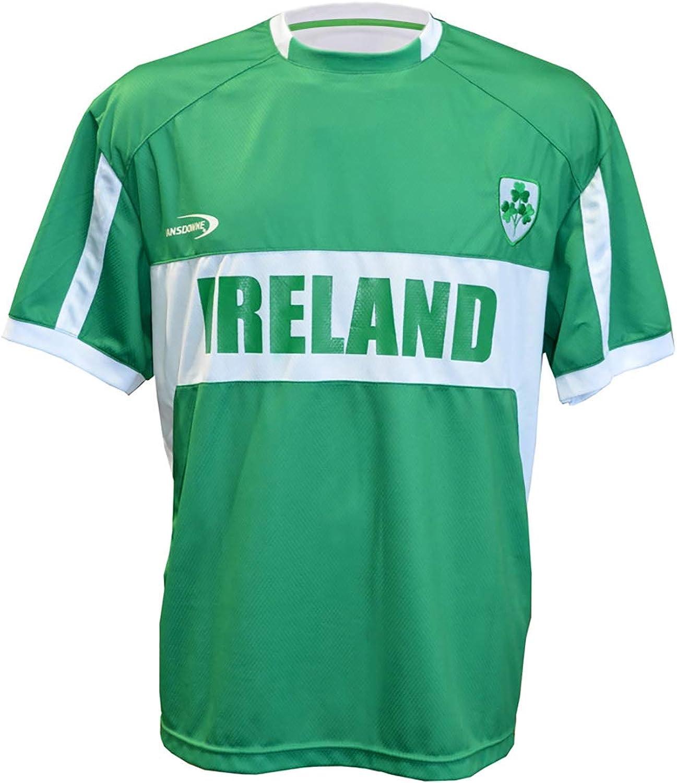 Carrolls Irish Gifts - Camiseta de rugby para hombre, diseño de Irlanda Lansdowne, color verde: Amazon.es: Ropa y accesorios