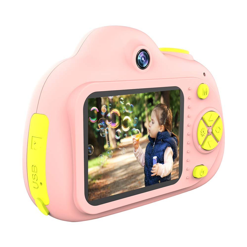 SANVOY Kids Camera - 8MP Photography and 1080 HD Video for Children - 2.0'' LCD Screen, 4X Digital Zoom with Selfie Function in Blue or Pink - Small Camera for Easy Transport by SANVOY (Image #7)