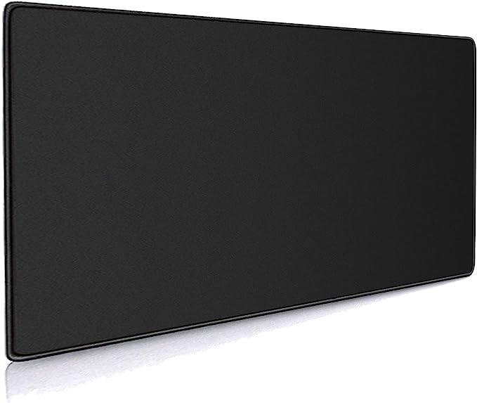 Cmhoo Großes Xxl Mauspad Maus Tastaturunterlage 90x40 Black Küche Haushalt