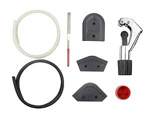 BXQINLENX 8 PCS PETG Tubing Cut and Bending Tool kit OD 14MM ID 10MM (8 PCS)