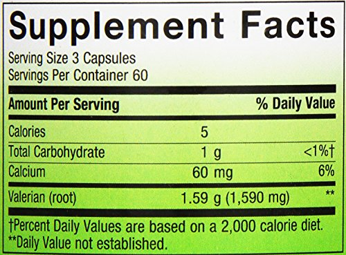 033674177082 - Nature's Way - Valerian Root, 530 mg carousel main 1