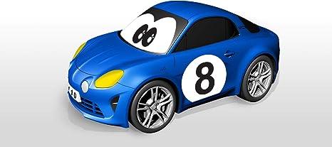 BBJUNIOR-Renault-Meine erste Alpine A110 mit Gyroskop-Lenkrad Auto Bburago Maisto France 92009 blau