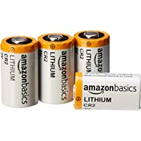 4-Pack AmazonBasics Lithium CR2 3V Batteries
