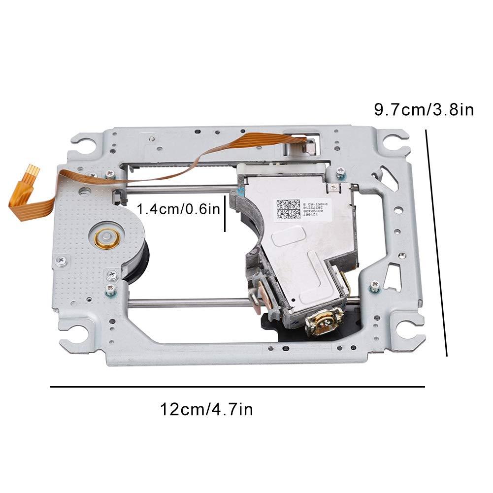 Cosiki Lente La-ser para PS3 Pieza de Repuesto para Cabeza de Lente La-ser con Soporte para Consola de Juegos PS3 KEM-400AAA
