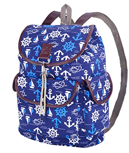 Nautical Canvas Rucksack