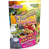 F.M. Brown'S Tropical Carnival Gourmet Spicy Santa Fe Parrot And Macaw Treat With Chili Peppers, Fruits, Veggies, And Nuts, 12-Oz Bag Larger Image