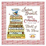 "Time Factory Susan Branch Heart of the Home 12"" x 12"" January -December 2019 Wall Calendar (19-1033)"
