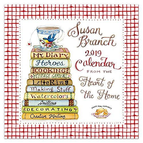 Time Factory Susan Branch Heart of the Home 12″ x 12″ January -December 2019 Wall Calendar (19-1033)