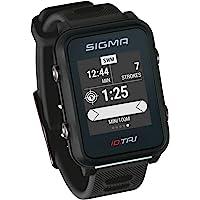 iD.TRI Montre de triathlon GPS avec caractéristiques d'entraînement et de compétition, navigation, Smart Notifications, légère et étanche, avec support pour vélo