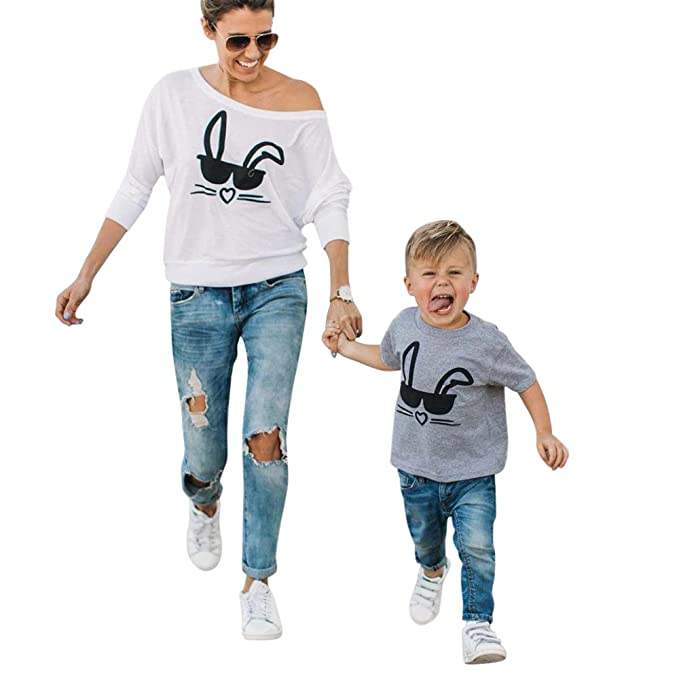 Mutter Kinder Kleidung,LUCKDE Matching Outfits Baby Outfit Mädchen ...
