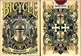 Knights Bicycle Playing Cards Poker Size Deck USPCC Custom Limited Edition