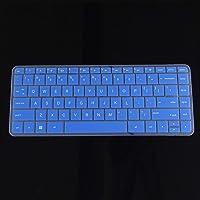 Accesorios para ordenadores portátiles y tabletas de 13,3 pulgadas, funda de silicona para teclado para HP Pavilion X360, Azul