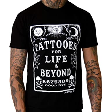 Amazon.com: Cartel Ink Mens Tattooed for Life and Beyond T ...