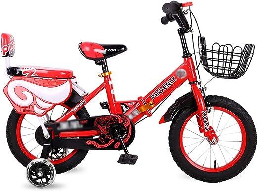 BAICHEN Bicicletas Bicicleta para niños 12/14/16/18 Pulgada ...