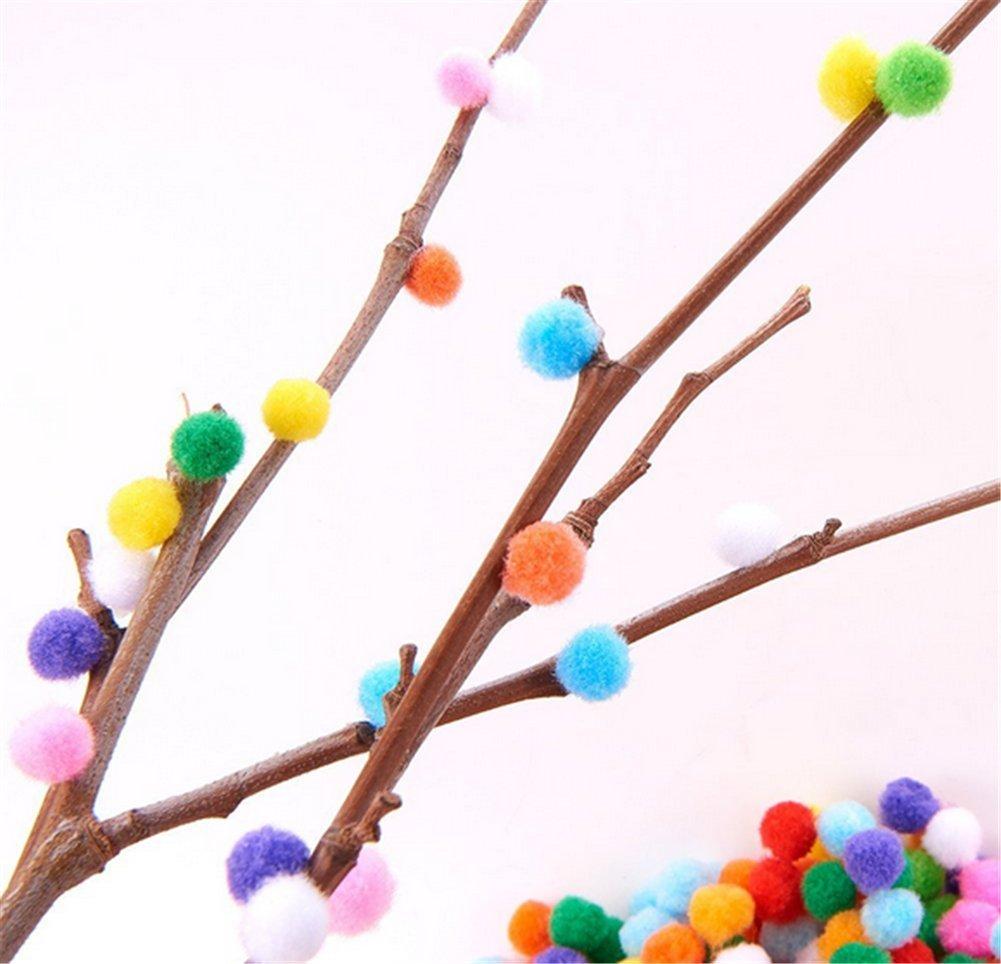 milopon peluche pi/ù colori fai da te decorazione Pompon Pompom Ball pelliccia palla da te partito favori Festival evento COMPUTER materiali 100pcs//set