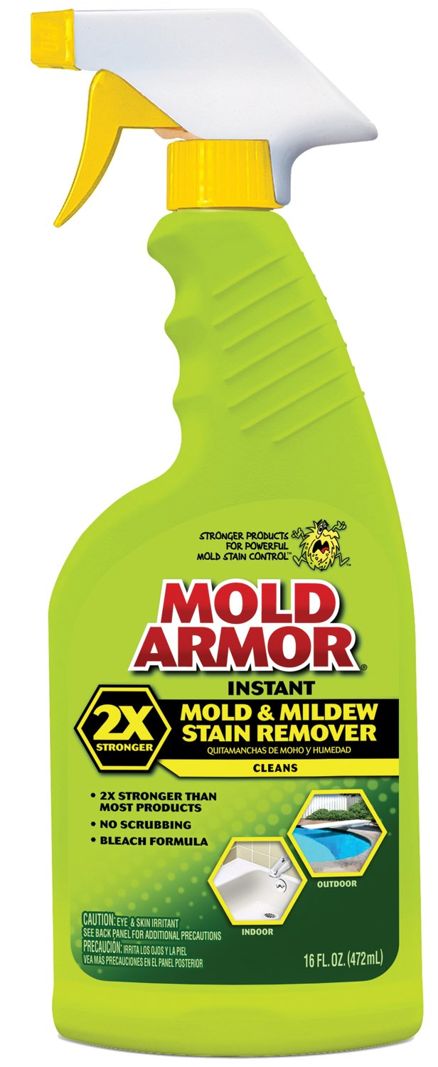 Mold Armor FG532 Instant Mold and Mildew Stain Remover, Trigger Spray 16-Ounce