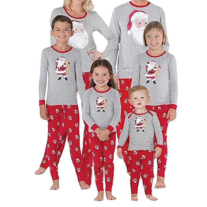 venta al por mayor tienda en línea precio más bajo con Juleya Feliz Navidad Juego de Pijamas para Toda la Familia Ropa de ...
