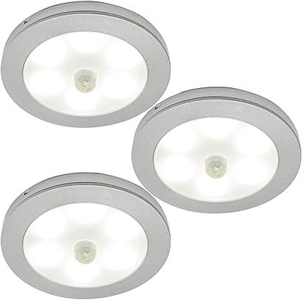 Interruptor de encendido/apagado automático, kit de iluminación LED - 3 pulgadas / bajo armario luz de cocina ...