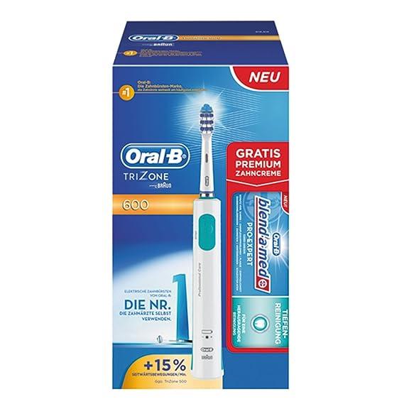 Braun Oral-B TriZone 600 - Cepillo de dientes eléctrico (edición limitada): Amazon.es: Salud y cuidado personal