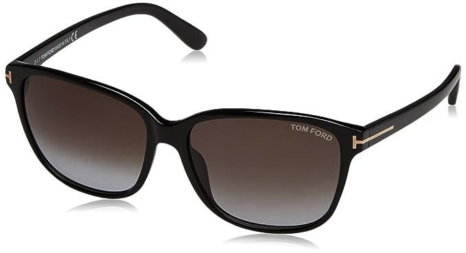 Tom Ford Mujer Sonnenbrille FT0432 01B 59 Gafas de sol ...