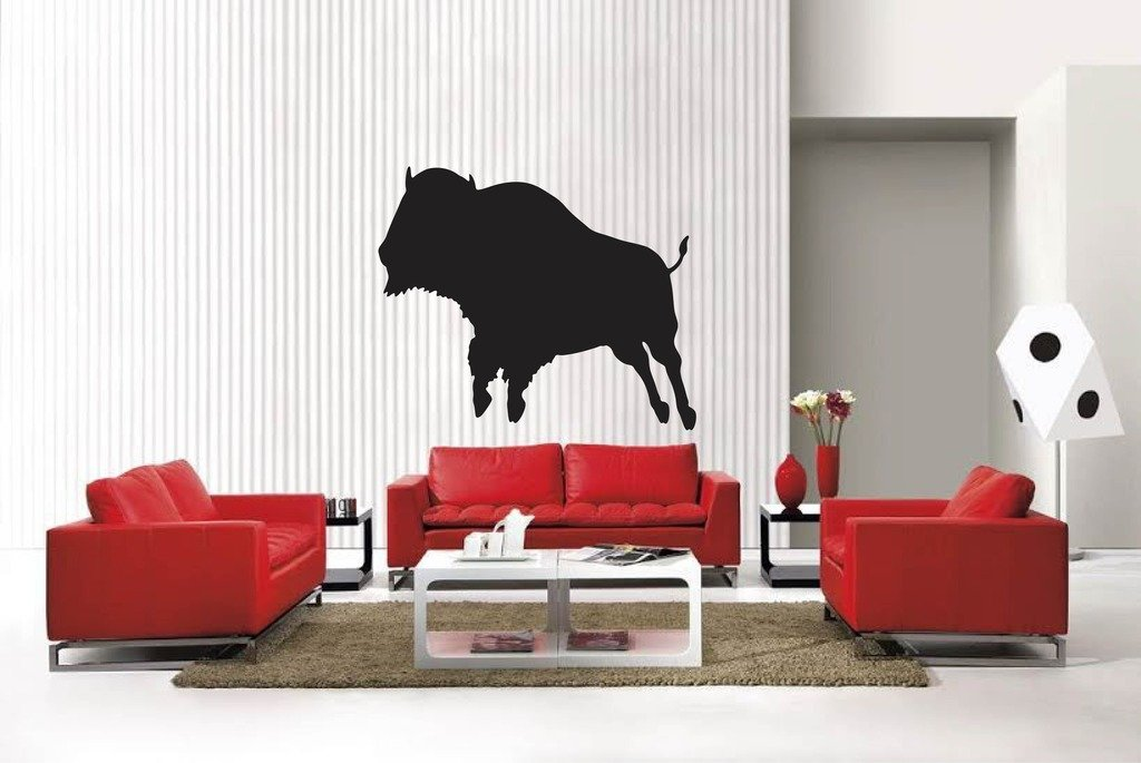 Blinggo bison sty5 removable Vinyl Wall Decal Home Dicor God Scripture Bible