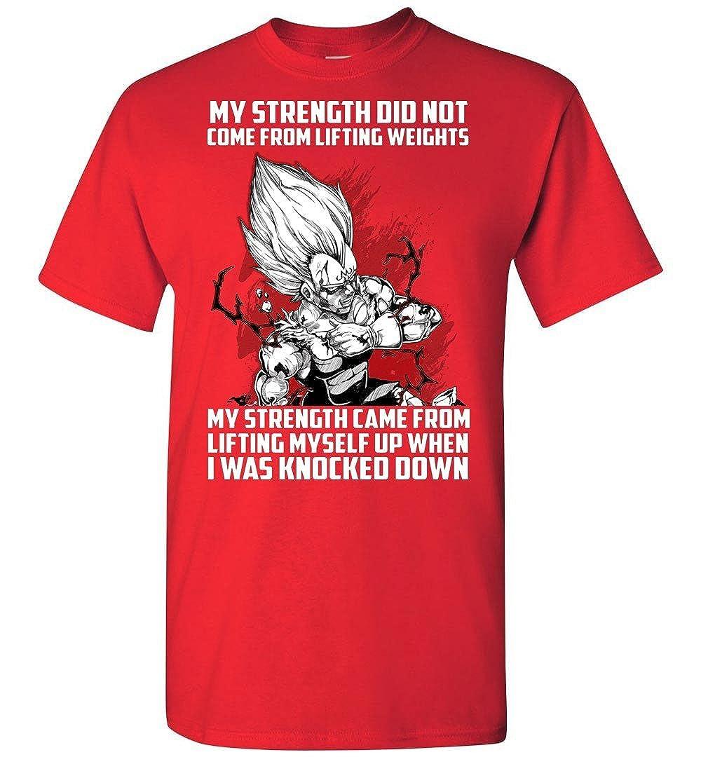 TEEPAAA Super Saiyan Majin Vegeta Lift up When Being Knocked Down T Shirt