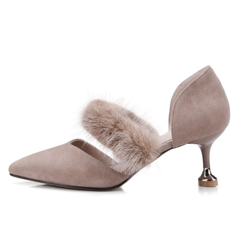 NVXIE Señoras Mujeres Bajo Medio Alto Tacón Tobillo Correa Corte Zapatos Trabajo Zapatillas Sandalias Tamaño, EUR 35/UK 3: Amazon.es: Deportes y aire libre