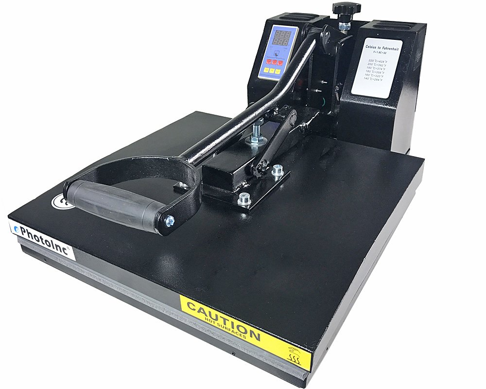 "ePHOTO NEW 15"" x 15"" T-SHIRT HEAT PRESS MACHINE"