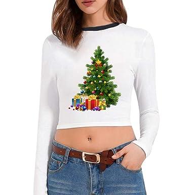 Christmas Ugly Pull Noël Pitashe De Imprimées Santa Femme Impression rCdWBoxe