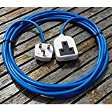 5 METER 1 WAY HEAVY DUTY ELECTRICAL GARDEN EXTENSION CABLE WHITE CONNECTION by Hardware Warehouse Ltd