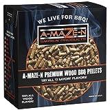 A-MAZE-N 100% Hickory BBQ Pellets, 2 lb