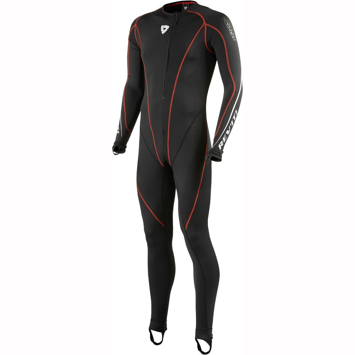 REV'IT Sottotuta Sportiva Excellerator Undersuit Moto (Xl, Nero) REV' IT FTU301_XL