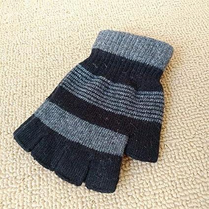 e04629748 Amazon.com   Q STZP Gloves Glove Mitten Men s and Women s Autumn and ...