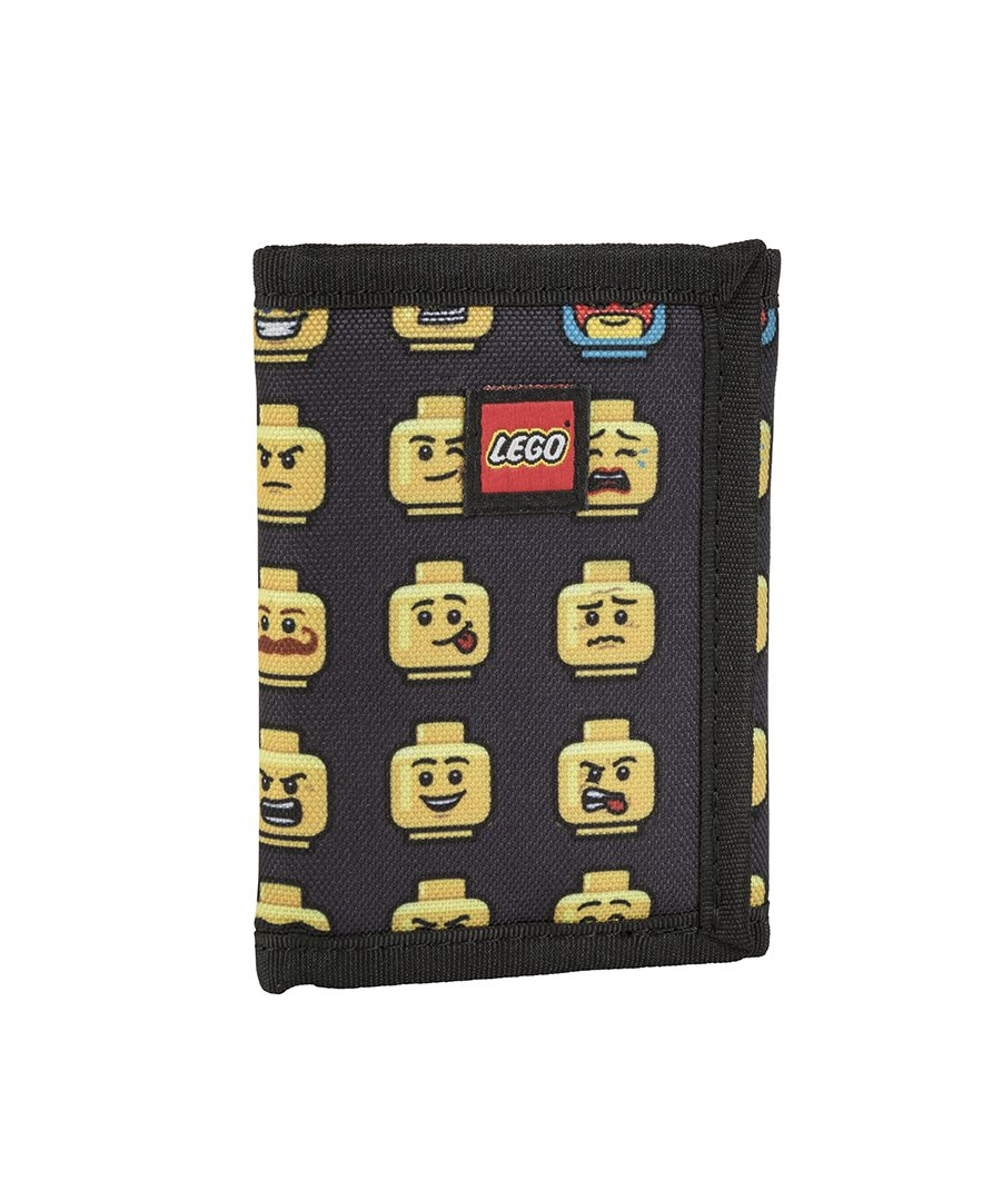 LEGO Kids Minifigure Wallet, Black
