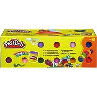 Play-Doh 20383F03 Pasta da Modellare, Confezione da 24 Vasetti, Colori Diversi , Modelli/Colori Assortiti, 1 Pezzo