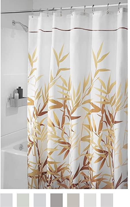 InterDesign Anzu Fabric Shower Curtain